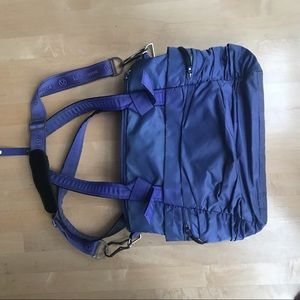lululemon athletica Bags - Lululemon purple/ blue Gym Yoga Diaper Bag